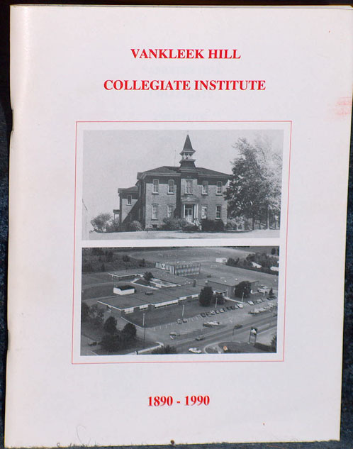 Vankleek Hill Collegiate 1890 - 1990