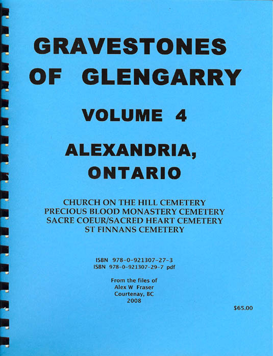 Gravestones of Glengarry v.4
