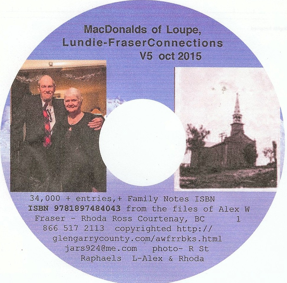 macdonalds of loup cd